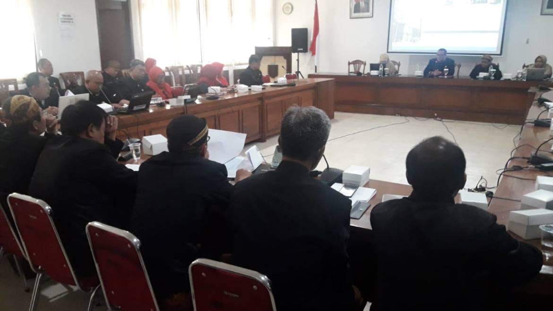 Inspektorat adakan Bintek penyusunan Rencana Tindak Pengendalian (RTP)