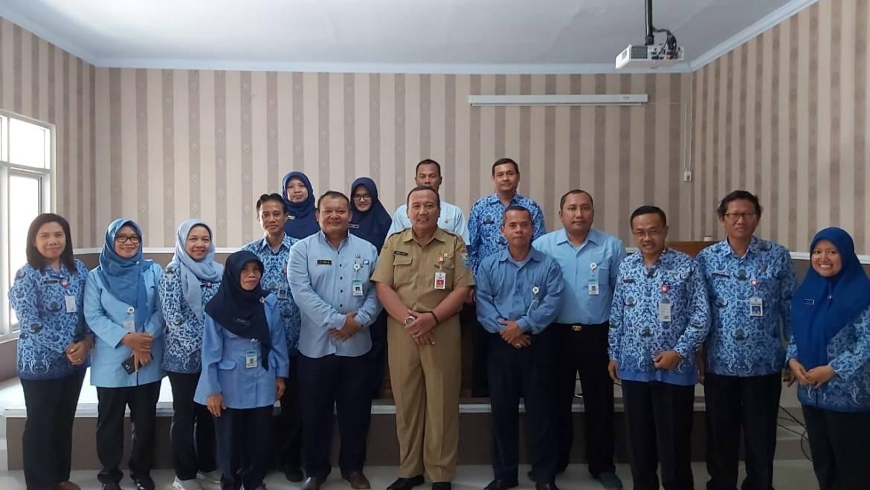 Inspektorat Daerah Kabupaten Purbalingga Menerima Kunjungan Inspektorat Kabupaten Bantul
