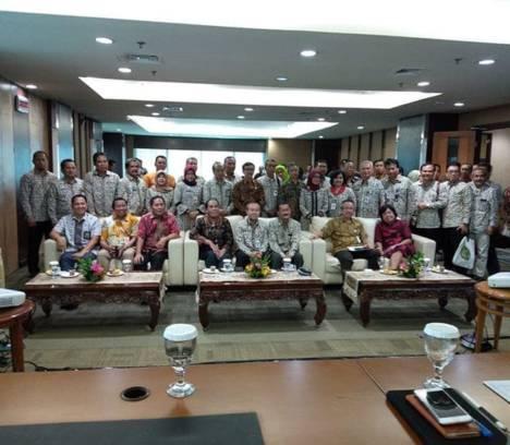 Komitmen Tingkatkan Kemampuan APIP, Inspektur Ikuti Koordinasi Peningkatan Kapabilitas APIP ke Inspektorat Jendral Kementrian Keuangan