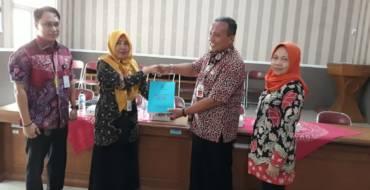 Penyerahan Draft LKPD Kab Purbalingga 2019, dari Bakeuda ke Inspektorat