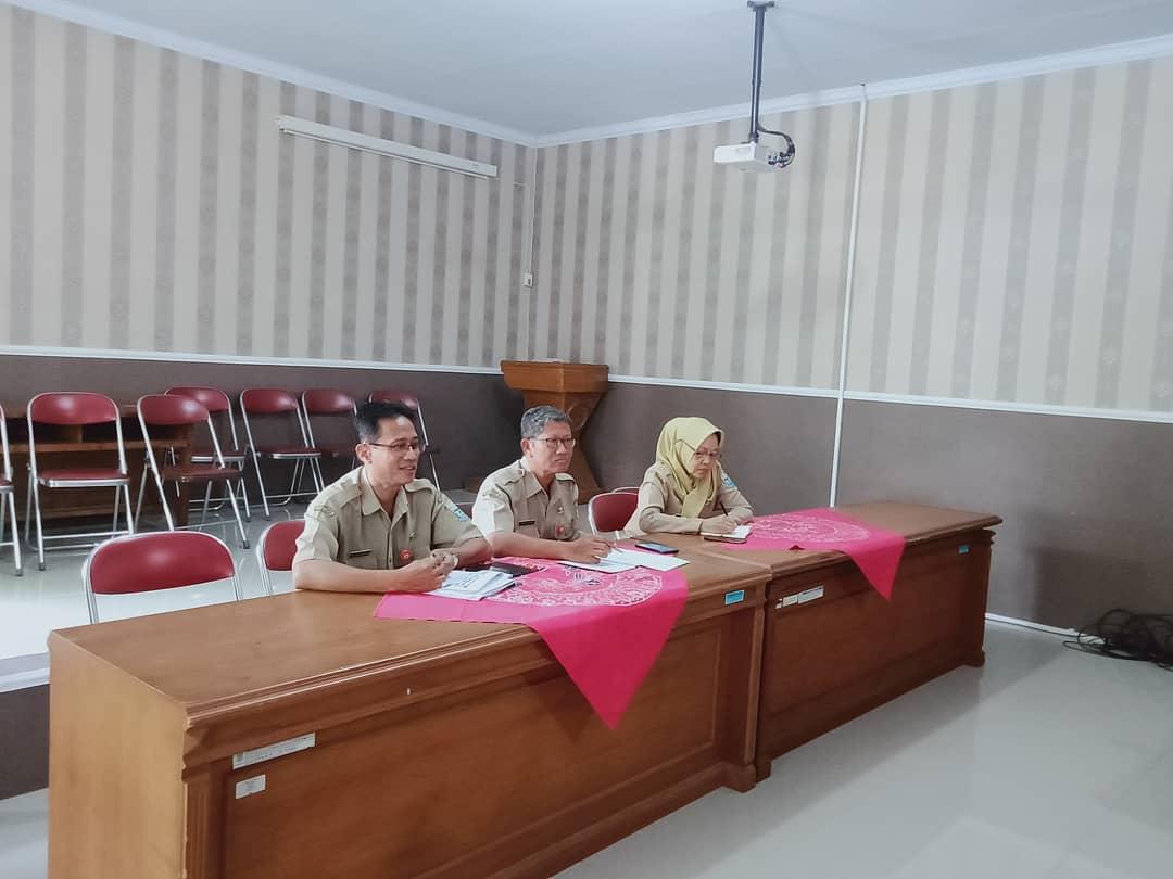 Rapat Koordinasi Pelaksanaan Kegiatan Pekerjaan di Lingkungan Pemda Kab. Purbalingga yang Bersumber dari DAK TH 2020